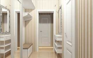 Дизайн прихожей в квартире панельного дома