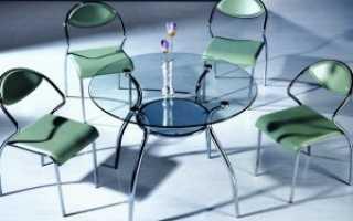 Круглый стол в интерьере
