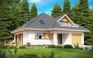 Дом с мансардой и балконом фото