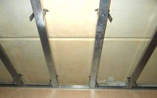 Каркас из металлопрофиля для панелей ПВХ