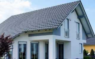Как рассчитать площадь мансарды при двускатной крыше?