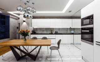 Кухня в стиле хай