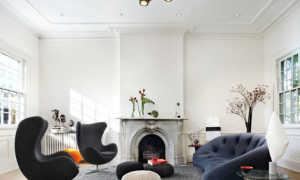 Высокие потолки в интерьере квартиры