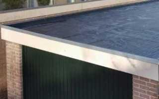 Как сделать крышу гаража?