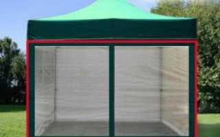 Тент для беседки 3х3 крыша