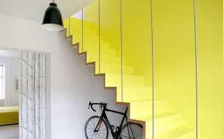 Дизайн лестницы на второй этаж в частном доме