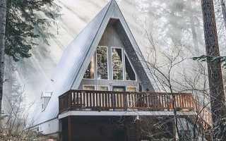Дом с крышей до земли