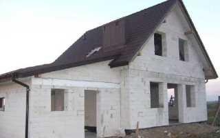 Дом из пенобетона плюсы и минусы