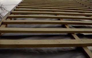 Какие доски нужны для крыши