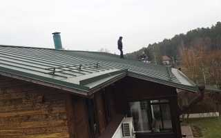 Протекает крыша в частном доме что делать