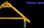 Нижний свисающий край крыши деревянного дома