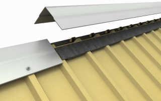 Как правильно стелить профнастил на крышу