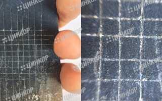 Восстановление цинкового покрытия