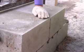 Как построить гараж из блоков?