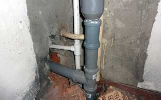 Проект канализации в частном доме схема