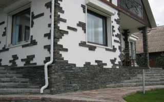 Декора фасада дома на 75 фото примерах