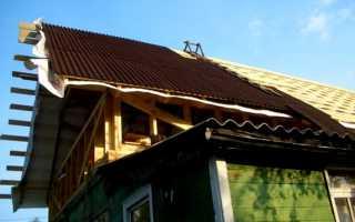 Сколько стоит покрыть крышу ондулином цена работы?