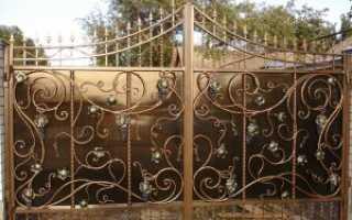Кованные ворота своими руками