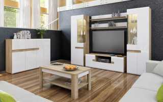 Стенки для гостиной в современном интерьере