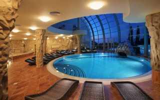 Дизайн бассейна в интерьере и экстерьере частного дома